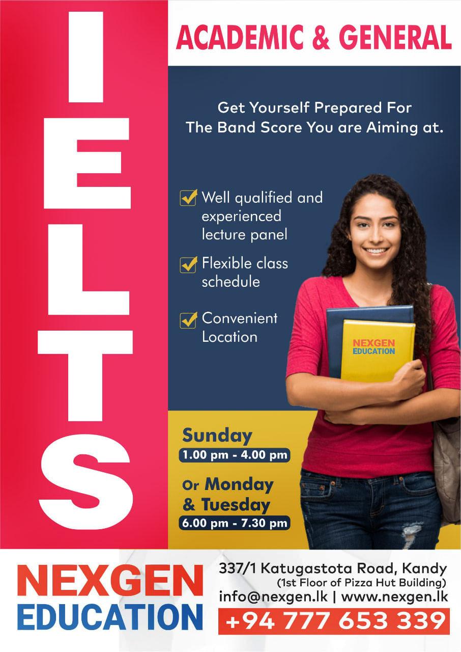 IELTS Classes in Kandy